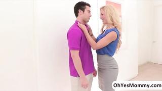 stunning broken stepmom Cherie Deville seduces her stepdaughters boyfriend