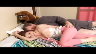 crazy daughter seduced and penetrated by dad