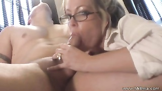milf Secretary With Glasses pulverized