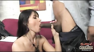 genuine tramp milf plowed hard by BBC