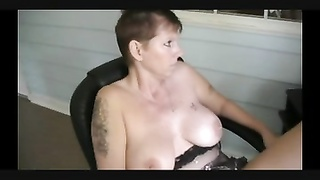 She is seeing porn