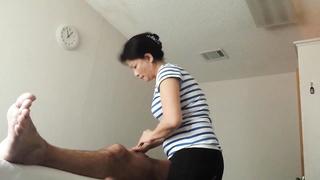 GETTING fantastic happy ENDING AT massage parlor