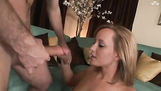 James Deen nail a attractive female and spunk  in her honeypot