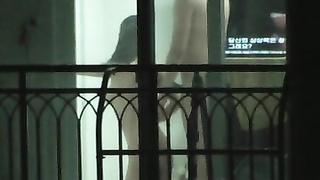 Korea apartment voyuer