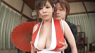improbable oriental babe with vast titties