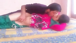 Desi Bhabhi in Salwar Suit ravaged by young guy