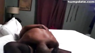 unlit couple having sex joy  - BBC and detestable insane  black  fuckslut