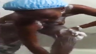 My amateur african ivorian murky black  mapouka called Lynda Dem scandal sex tape