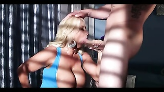 big-chested GILF NEEDS SOME manhood!
