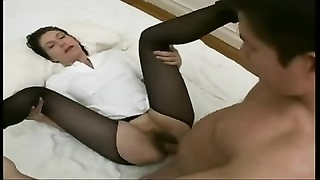 hairy French passe anal invasion trio