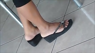 impersonal gorgeous Shoeplay Feet gams  Dipping