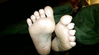Wifes lovely BBW feet