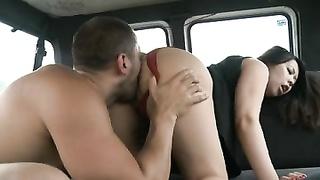 superior  vulva fuckin' for large boobies british asian