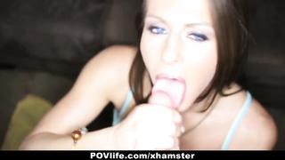 POVLife - busty Rachel Roxxx masturbates The rod Dry!