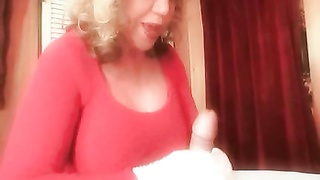 big Titted Mommy's dirty Talking masturbate Off