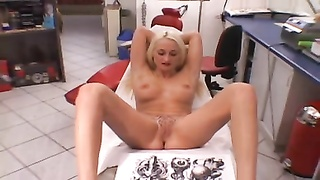 Extreme demon pussy tattoo getting more ink download