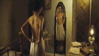 Emily Browning bulky Frontal Nude HD