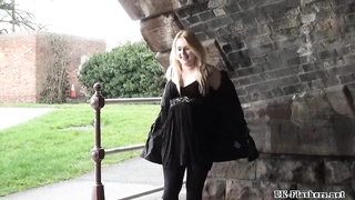 blondie honeys  public masturbation and outdoor vulva flashing