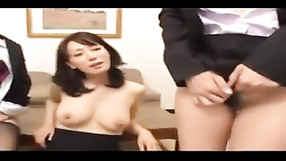 Japanese switch roles  group sex 13