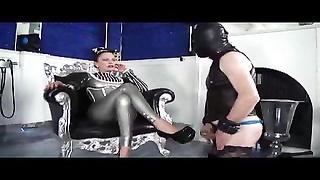pretty damsel Mistress with Heels