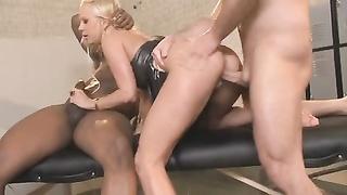 blonde Carla Cox IR double penetration