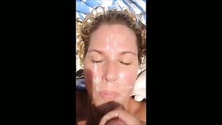9 sprays of cum for my wifey