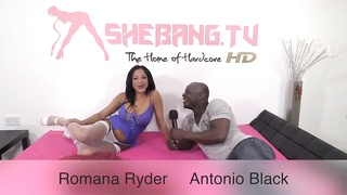 ShebangTV. - Romana Ryder & Antonio shaded