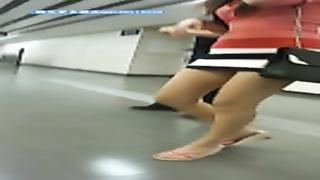 tight donk under mini dress