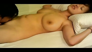 asian lady with big titties!