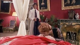 Paola Senatore Laura Gemser lesbo scene from Emanuelle