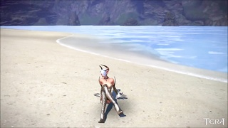 Tera: Castanic tart  Dancing on the Beach tall Quility