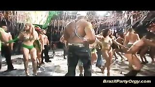 Rio zumba fuckfest carneval anal invasion sex orgy