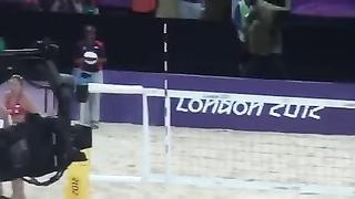 Volley de playa trio