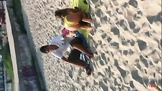 fantastic GREEK youthful. YELLOW bikini AT THE BEACH teasing US