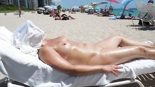 perfect jugs on nude beach