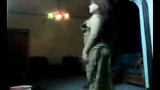stunning arab milf dancing