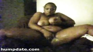 chesty shadowy chick masturbating on webcam