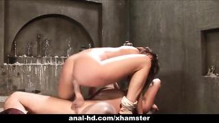 Tory Lane takes a boner up her butt