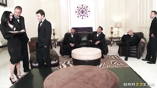 The Secret Soiree: Six-Man group sex