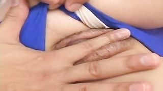 attractive youthful Japanese Girl's hairy slit Creampied