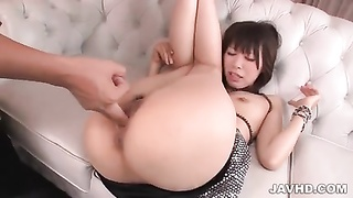 chinese mom Junna Kogima penetrated and creampied