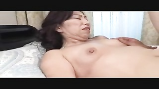 stunning Japanese Mature's cunny Creampied