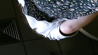 youthfull  teenager with mom then yam-sized bbw college lady