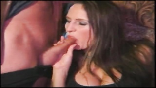 Linda - huge-titted Swedish woman with 2 studs