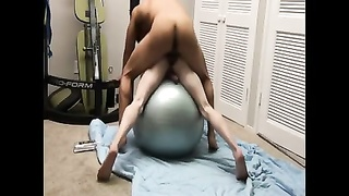 Interracial hookup on Swedish ball