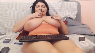 Webcams 2014 - Romanian with big butt knockers