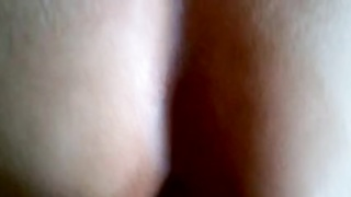 spunking  on my big booty mexican wife