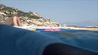 naturist  greek beach