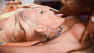 lovely and cool yellow-haired dutch female gets a facial
