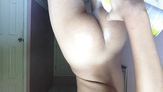 Me Oiling Up My ass And dirty dancing